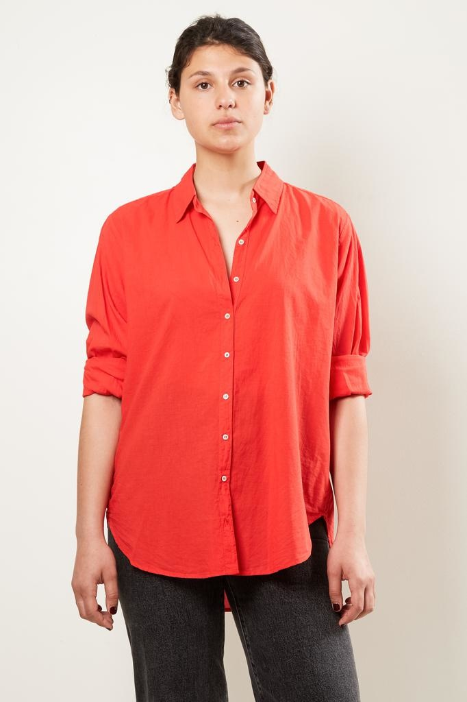 Xirena Beau cotton poplin shirt