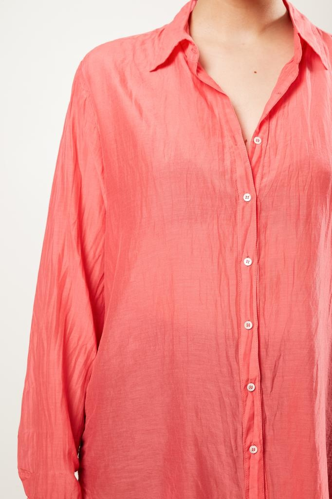 Xirena - Beau silk cotton shirt