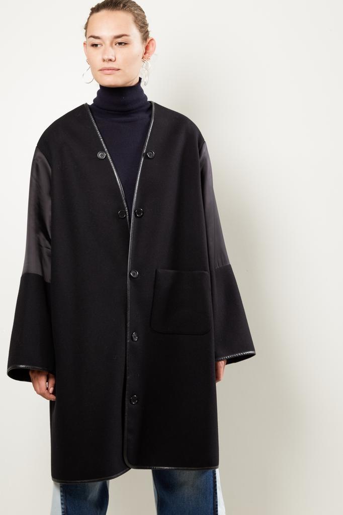 Maison Margiela felt coat