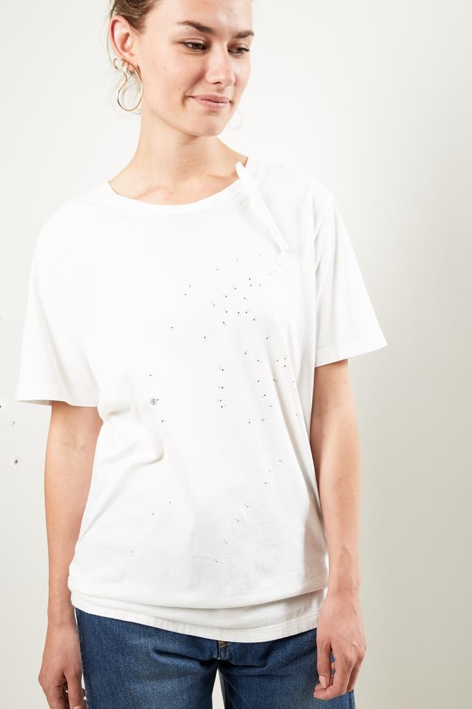 MM6 - T-Shirt Jersey with pen