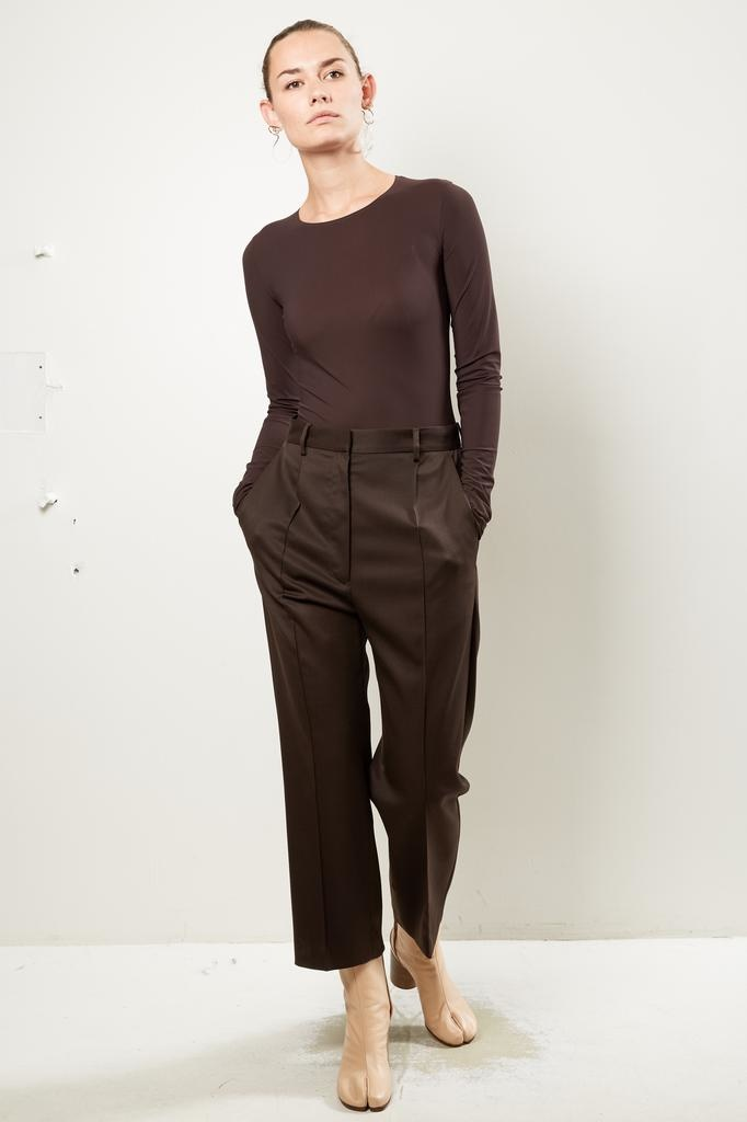 MM6 Suiting twill wool pant