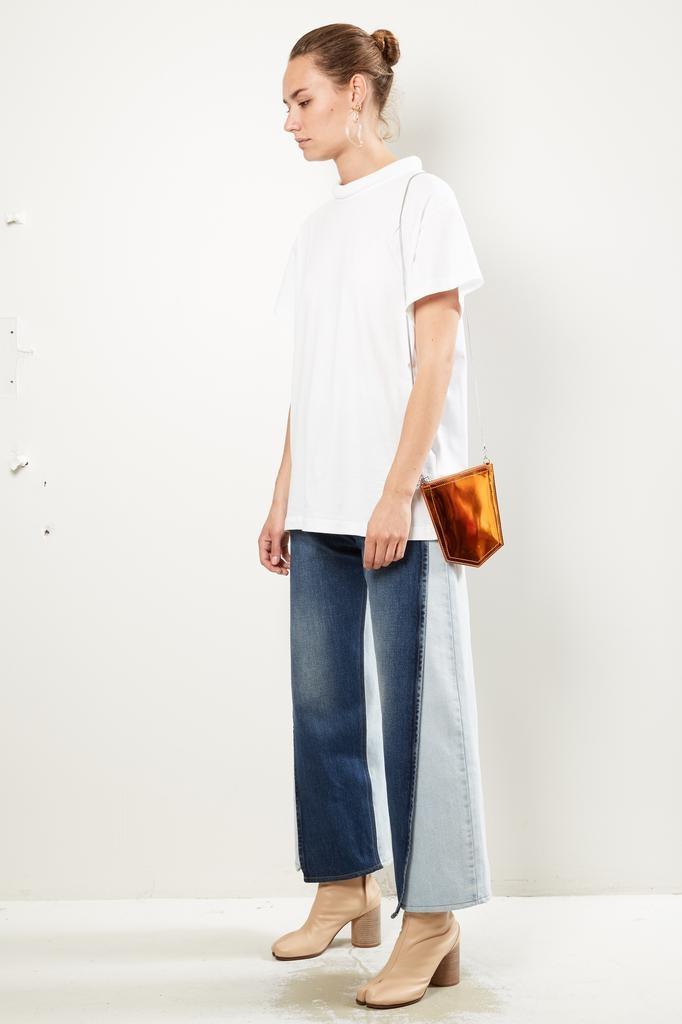 MM6 - Jeans pocket cross bodybag
