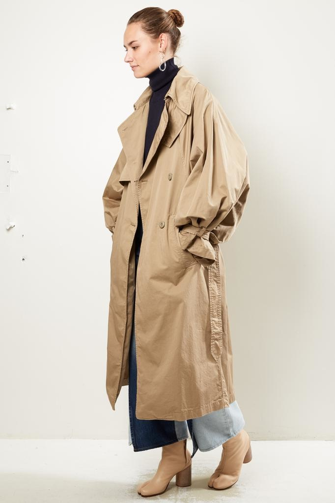 MM6 - Garment dyed over coat
