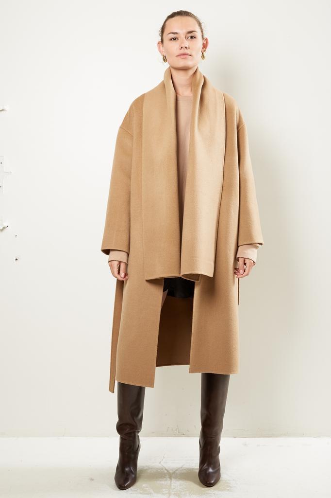 ÂME Alicia scarf coat