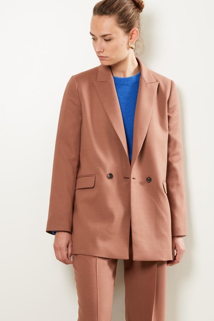 Frenken Mixed basic wool suiting jacket