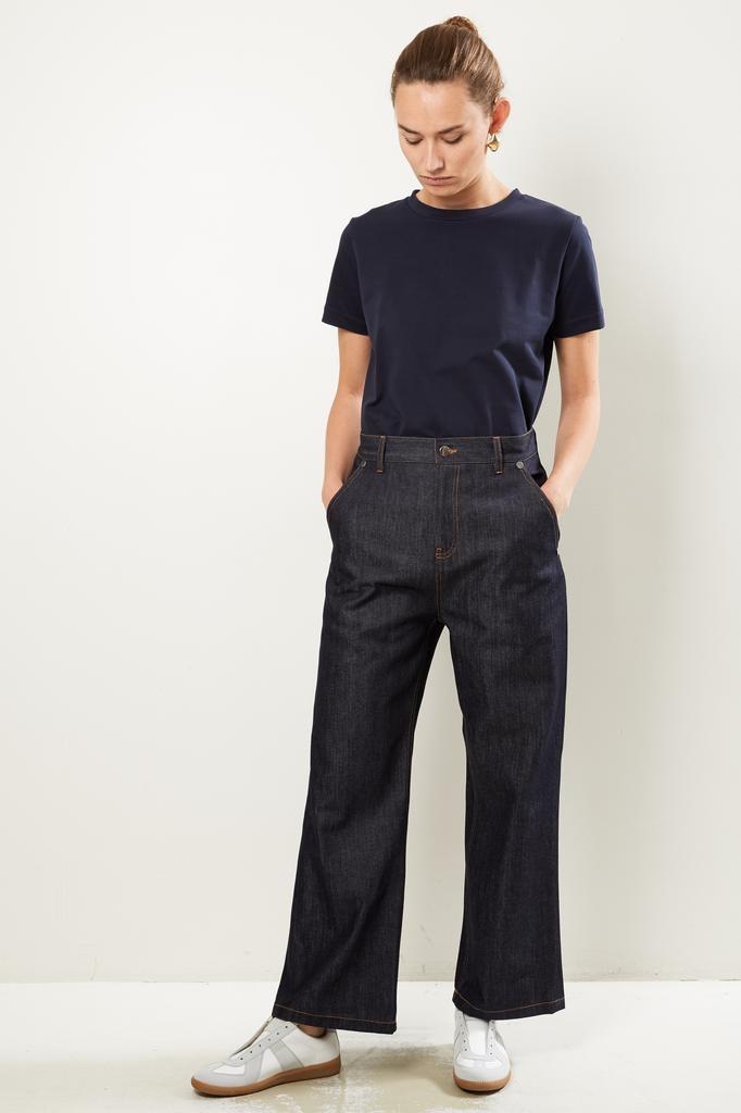 Sofie d'Hoore Parole raw denim trousers