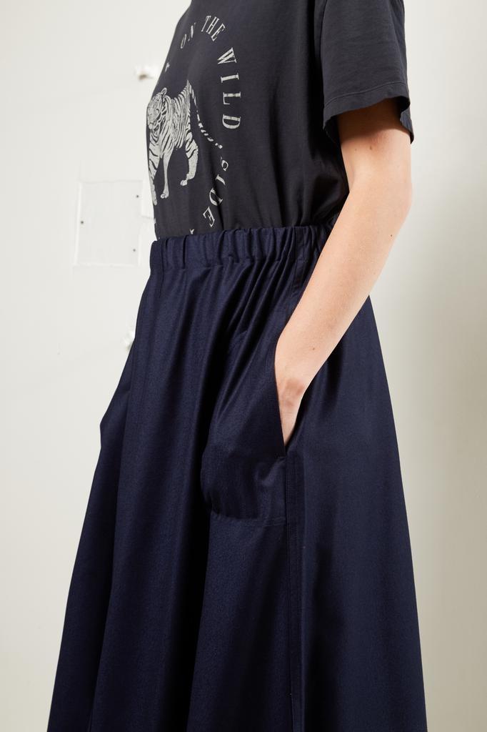 Sofie d'Hoore - Suwon light wool flanel skirt