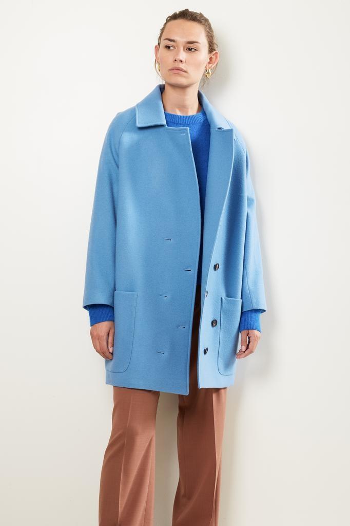 Frenken Timed fine wool coat