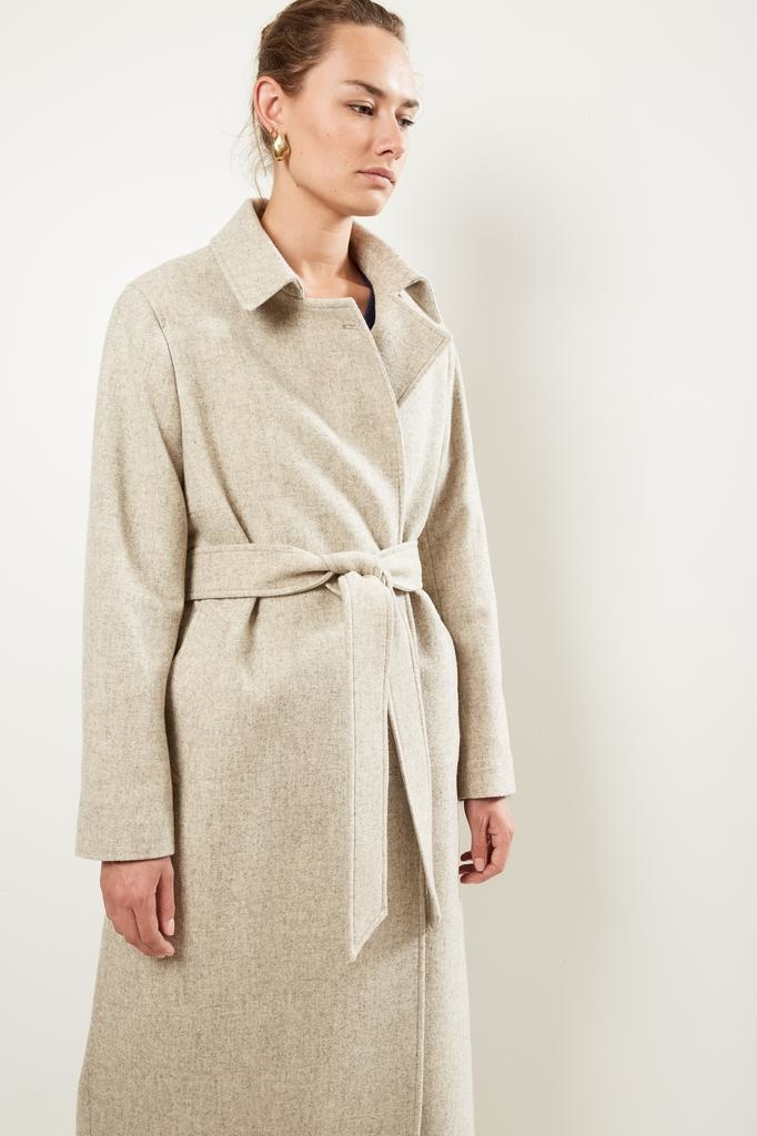 Frenken Blogger fine wool coat