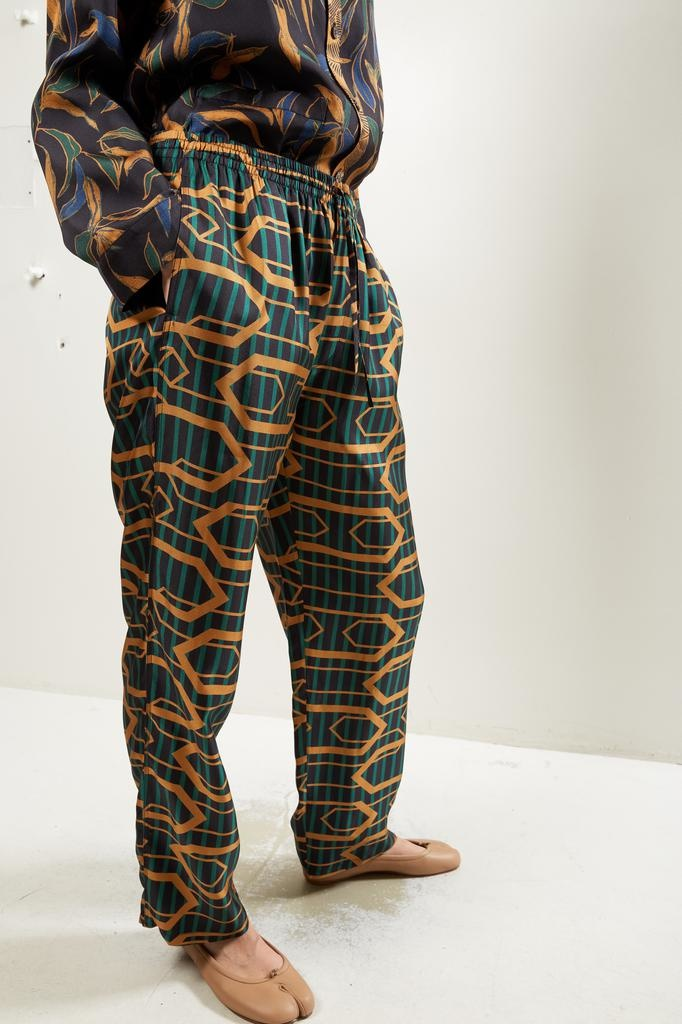 Bananatime Easy pant chains of love stripe