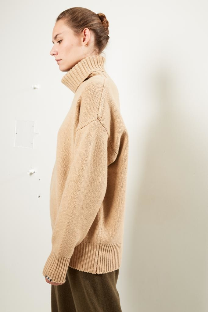 extreme cashmere Nº20 oversize xtra oversize unisex sweater with roll neck
