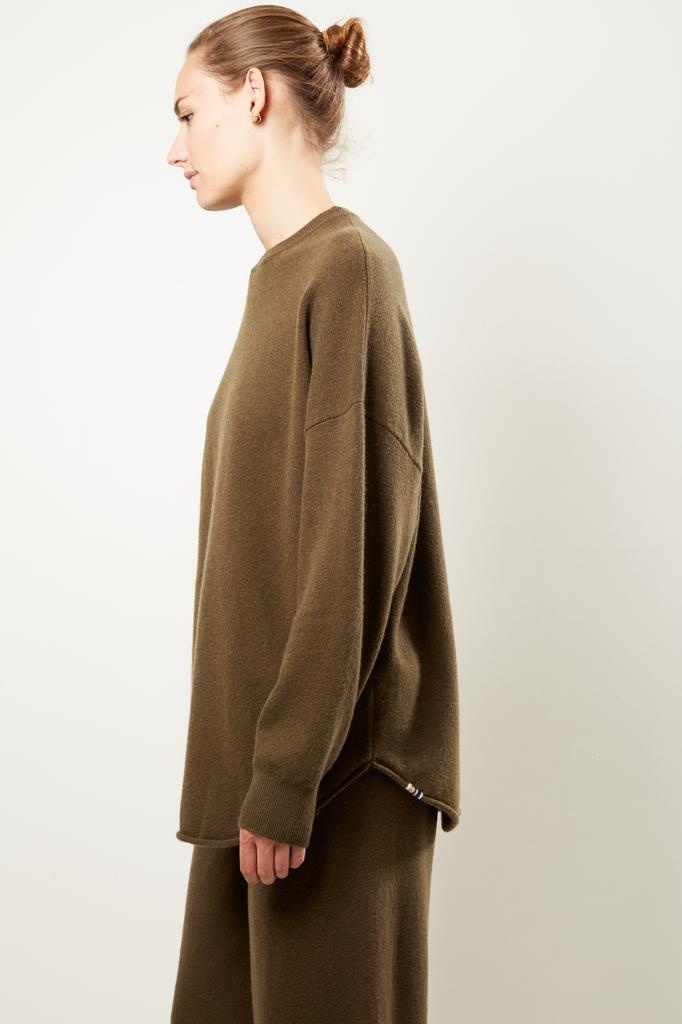extreme cashmere Nº53 crew hop sweater