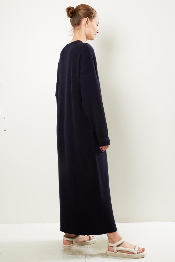 extreme cashmere - Nº106 weird crew neck dress