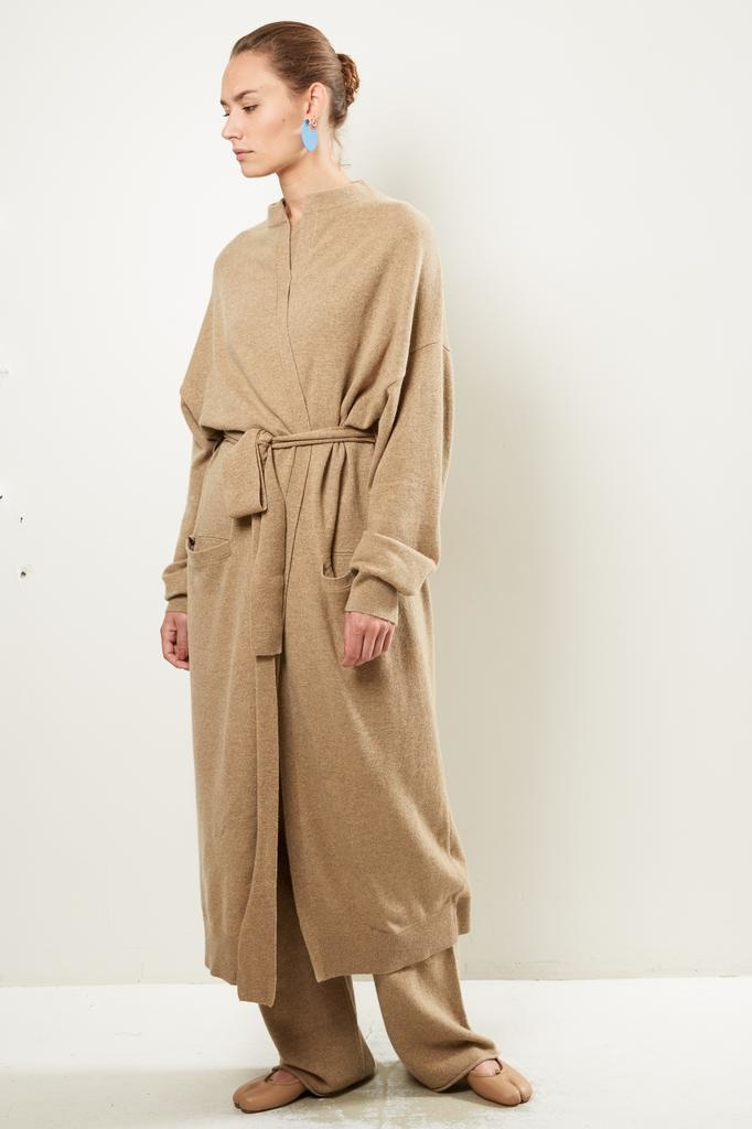extreme cashmere - Nº105 big coat long cardigan