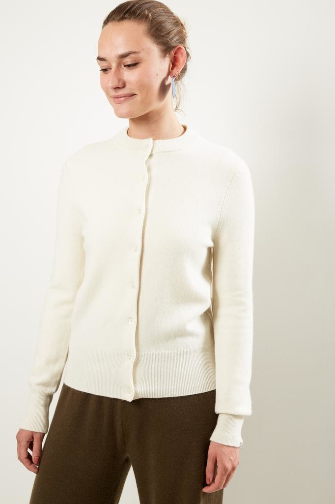 extreme cashmere Nº99 little small classic cardigan