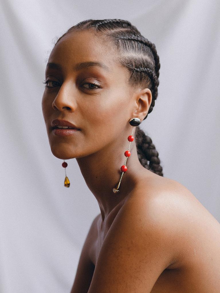 Faris - Ovo sway earrings