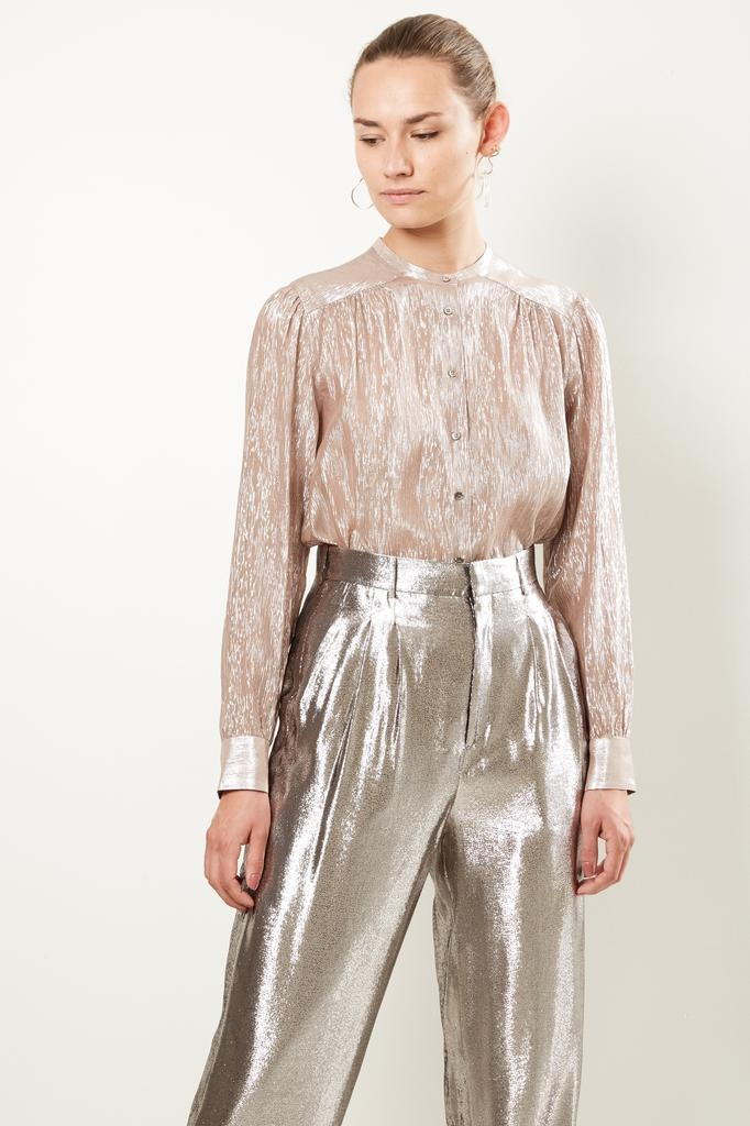 inDRESS Sparkling silk blouse