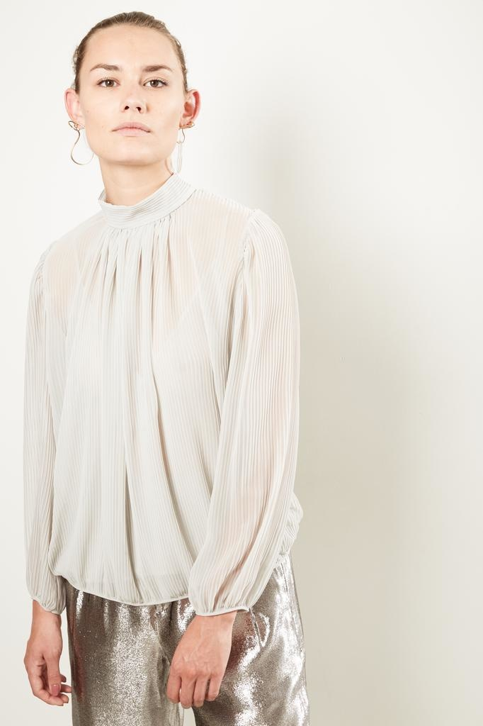 inDRESS Pleated blouse