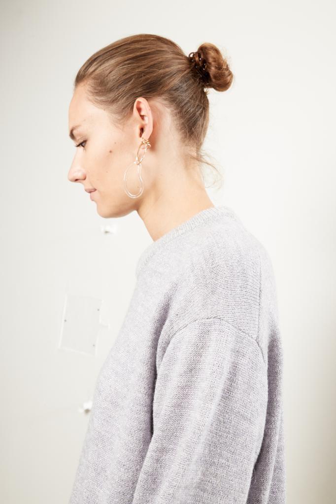 inDRESS - Alpaca and lurex sweater