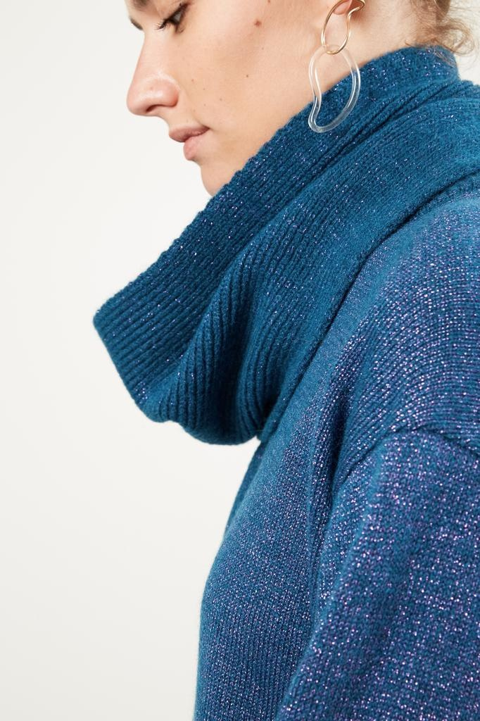 inDRESS - Alpaca and lurex scarf