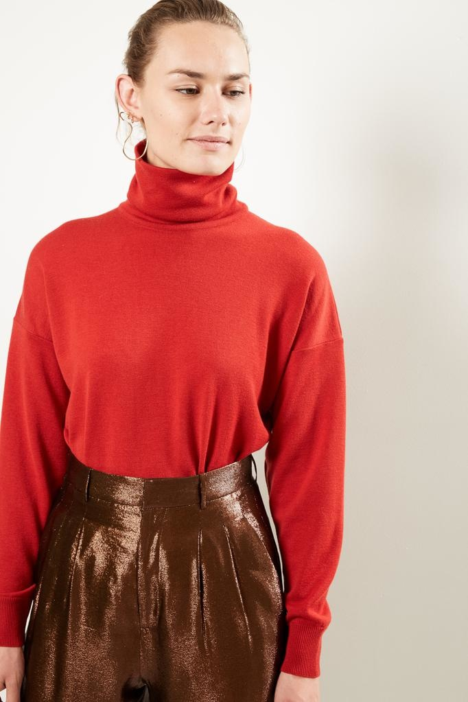 inDRESS Tasmanian wool turtleneck sweater