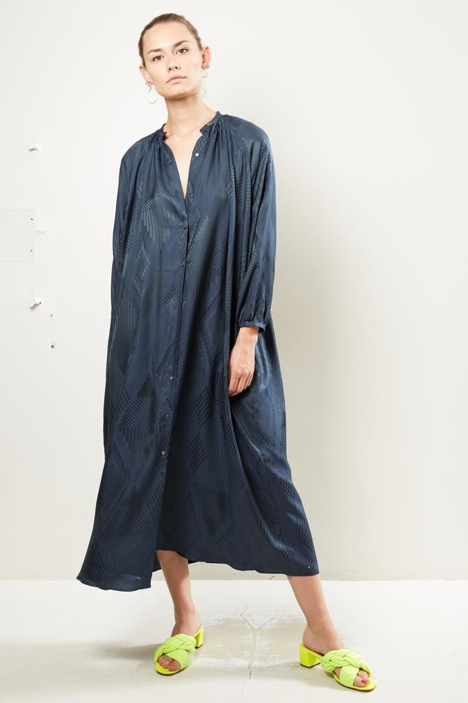 inDRESS Jaquard shirt dress