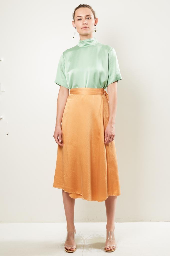 Forte Forte - cloquet silk skirt