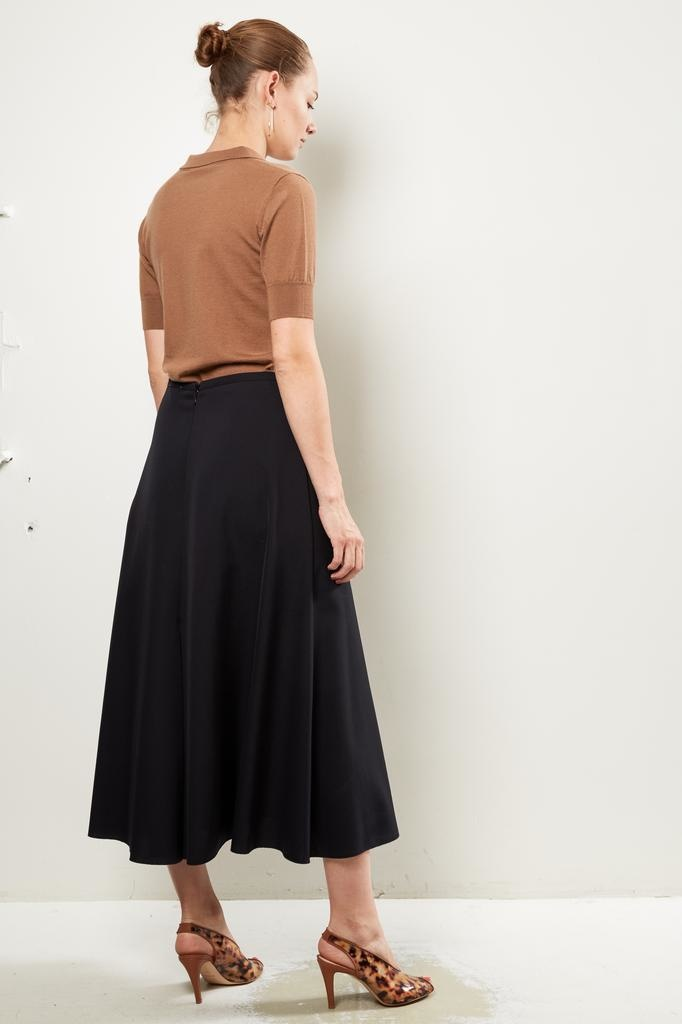 Forte Forte - wool canvas skirt