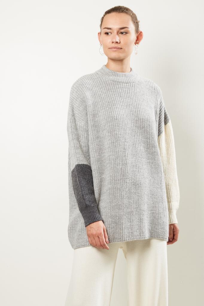 Valentine Witmeur lab Fine alpaca merino wool sweater