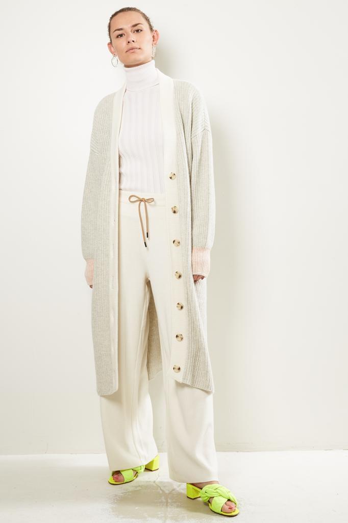 Valentine Witmeur lab Noctambulist cashmere extrafine merino wool cardigan