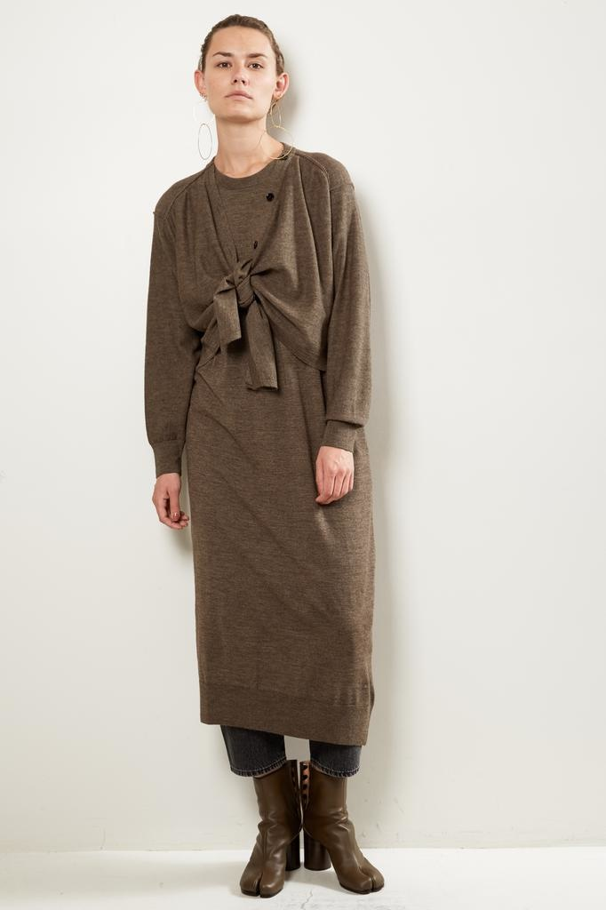 Lemaire Cardigan dress