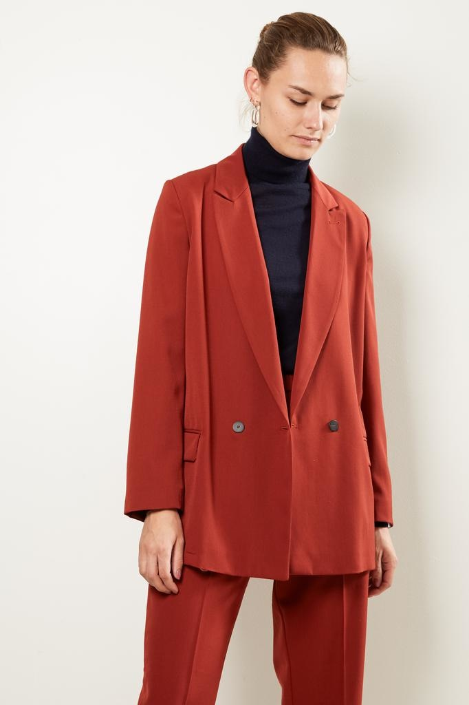 Forte Forte Wool canvas belted jacket