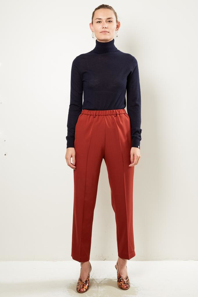 Forte Forte Wool canvas pants with elastic