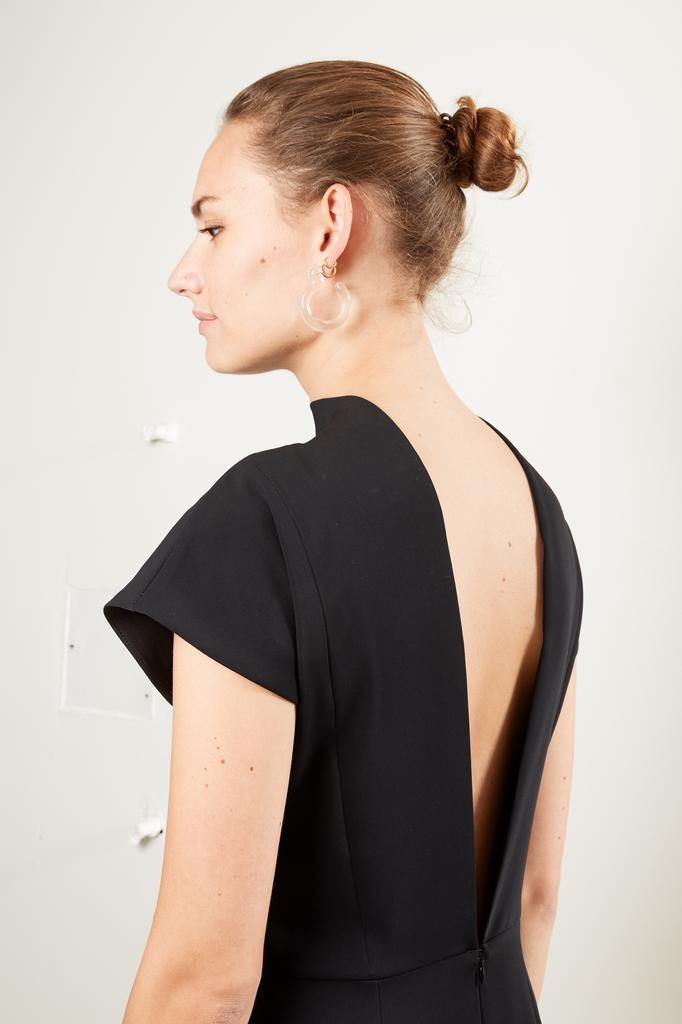 Bernadette - Valentine poly crepe de chine dress