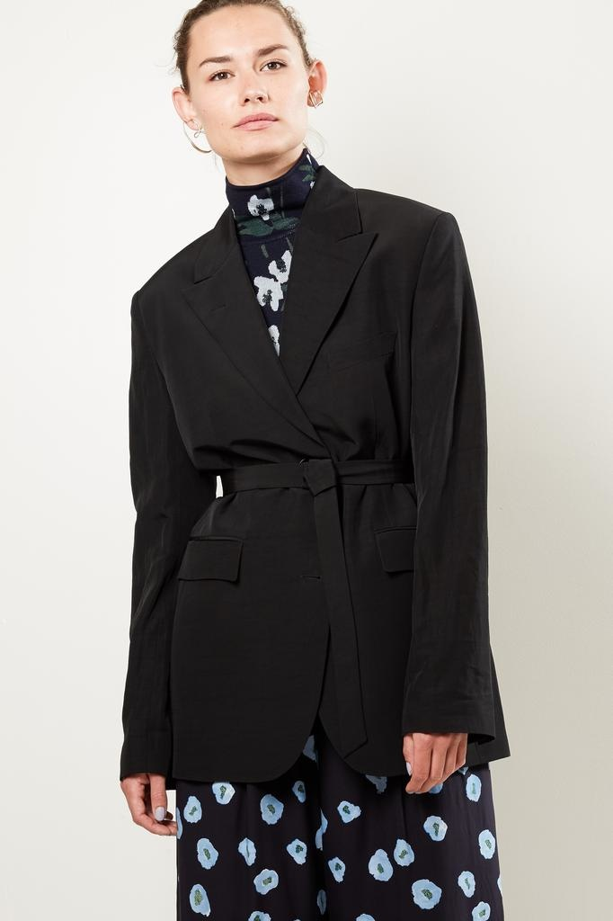 Christian Wijnants JINPA TAILORED JACKET WITH BELT