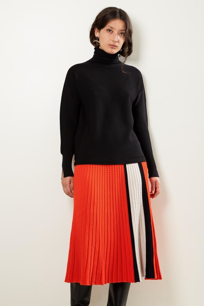 Molli - Top fin oversize col montant