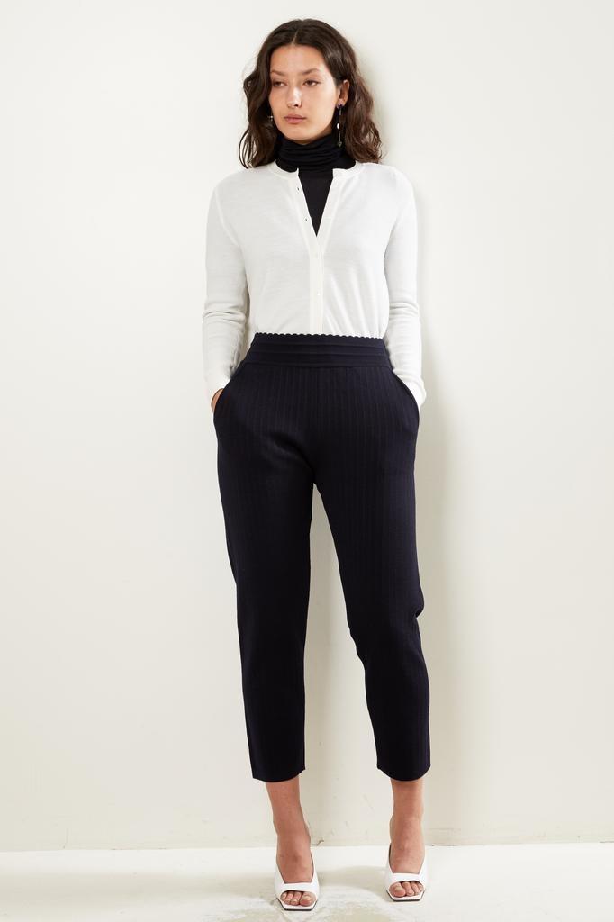 Molli Filly pantalon a droit a taille haute