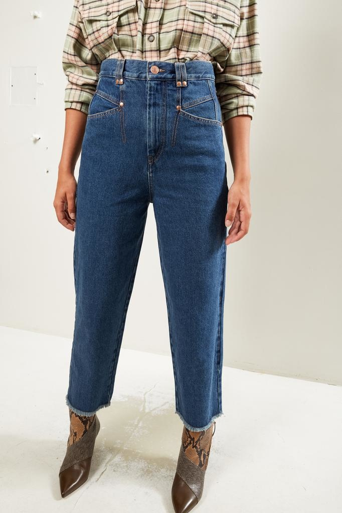 Isabel Marant - Daliska denim trousers