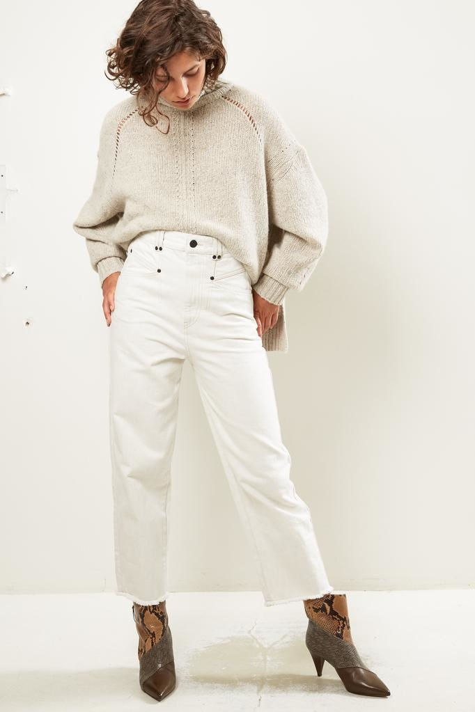 Isabel Marant Daliska denim trousers