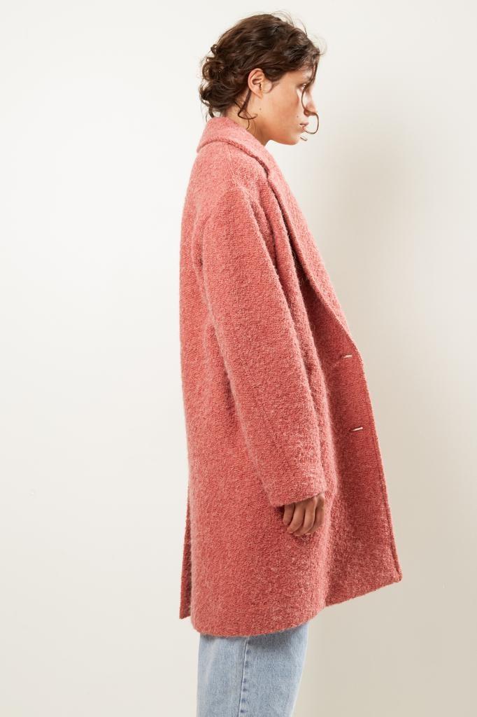 Etoile Isabel Marant Dante wooly coat