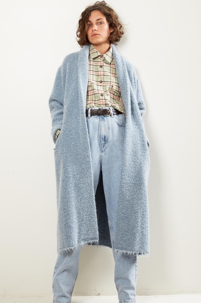Etoile Isabel Marant Faby wooly coat