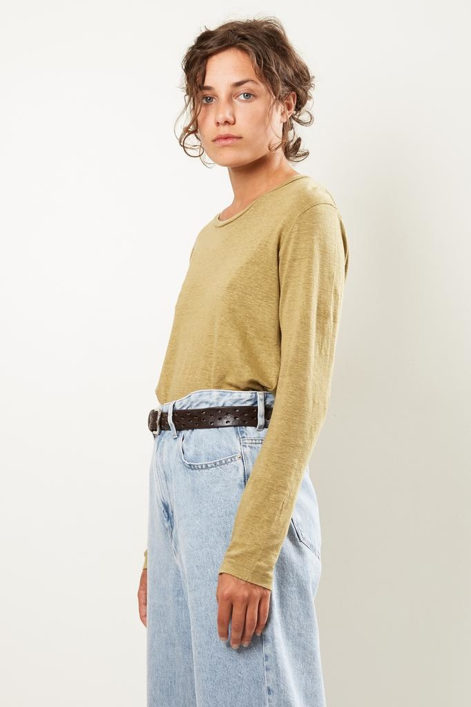 Etoile Isabel Marant Kaaron linen tee shirt