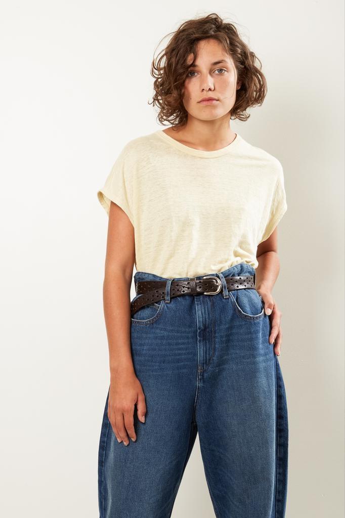 Etoile Isabel Marant Kella linen tee shirt