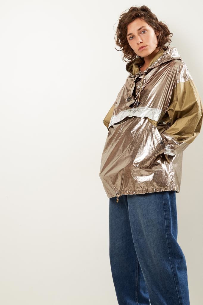 Isabel Marant - Kizzy metallic raincoat