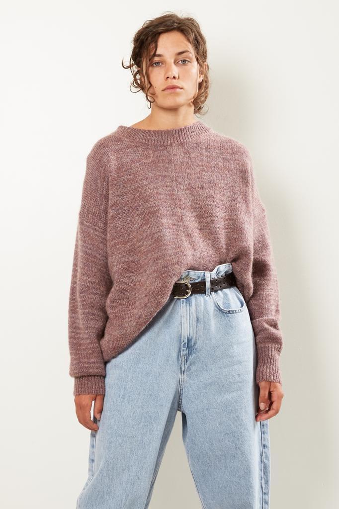 Etoile Isabel Marant Mander fluffy knit sweater