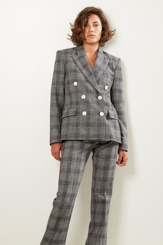 Isabel Marant Dallin checked suits jacket