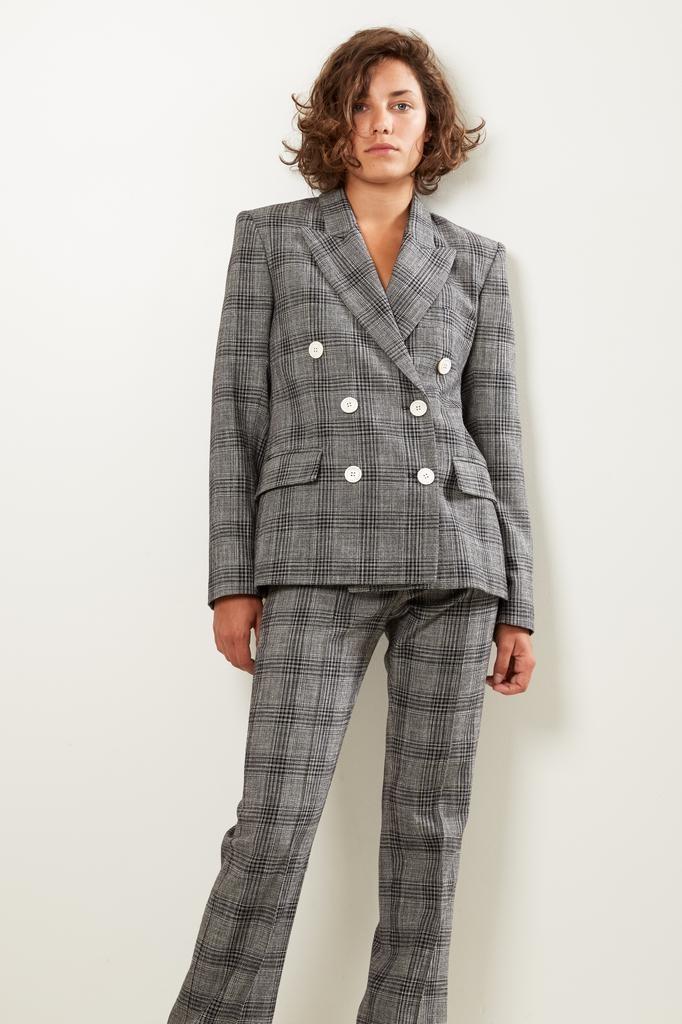 Isabel Marant Dallin checked suits jacket