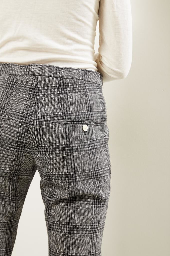 Isabel Marant - Derys checked suits trousers
