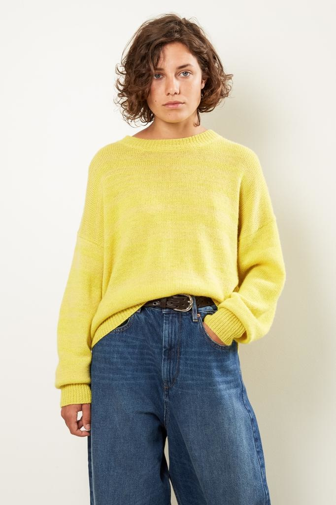 Etoile Isabel Marant Gatliny alpaca knit sweater
