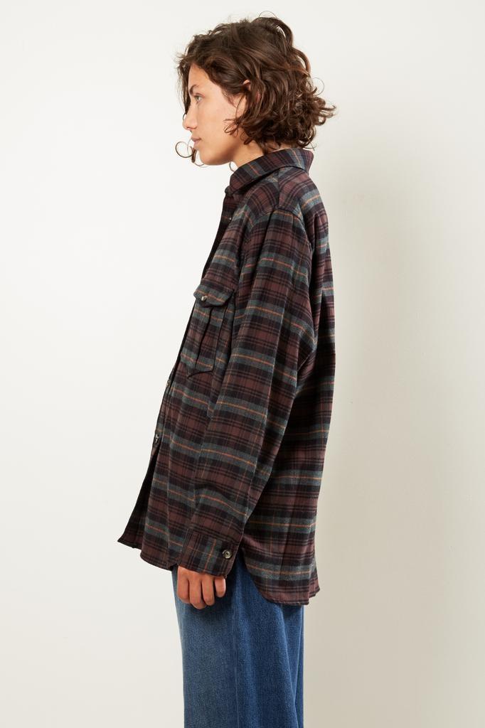 Etoile Isabel Marant - Idahou check pilou shirt